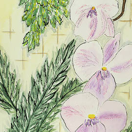 Cynthia Schoeppel - Orchid Close Up