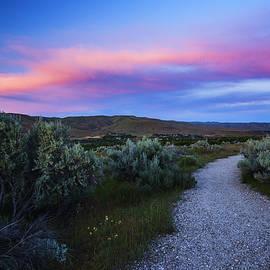 Vishwanath Bhat - Oregon Trail Sunset Boise Idaho