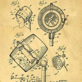 Original Hair Dryer Patent - Edward Fielding