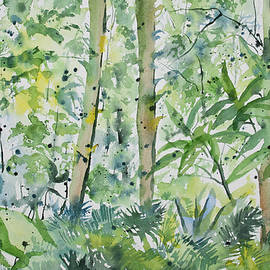 Cascade Colors - Original Watercolor - Subtropical Forest