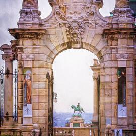 Joan Carroll - Ornamental Gateway Buda Castle