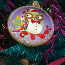 Ornaments Holiday Christmas tree scene - Panoramic Images