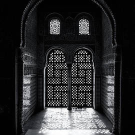 Ornate Alhambra window - Jane Rix