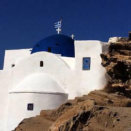 Colette V Hera  Guggenheim  - Orthodox Church Paros Island