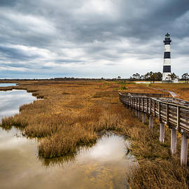 Dave Allen - Outer Banks North Carolina Bodie Island Lighthouse Landscape NC