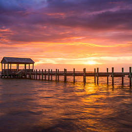 Dave Allen - Outer Banks North Carolina Nags Head Sunset NC Scenic Landscape