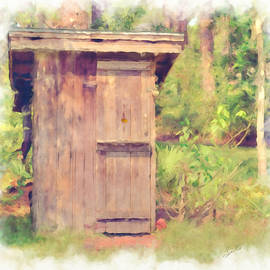 L Wright - Outhouse