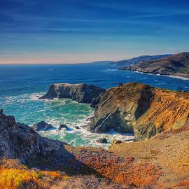 Jennifer Rondinelli Reilly - Overlooking Bird Island - Marin Headlands California