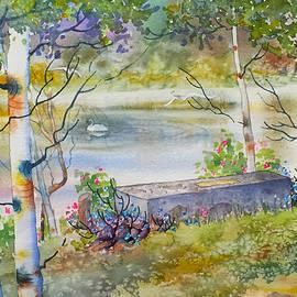 Teresa Ascone - Overlooking the Lake