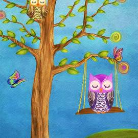 AnaCB Studio - Owl and Dreams