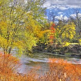 Michael Mazaika - PA Country Roads - Autumn Colorfest No. 1 - Along Fishing Creek Near Rupert Columbia County
