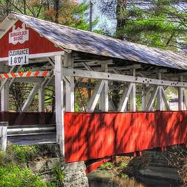 Michael Mazaika - PA Country Roads - Burkholder / Beechdale Covered Bridge Over Buffalo Creek No.1 Somerset County