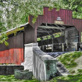 Michael Mazaika - PA Country Roads - Geiger Covered Bridge Over Jordan Creek No. 5A-Alt - Lehigh County