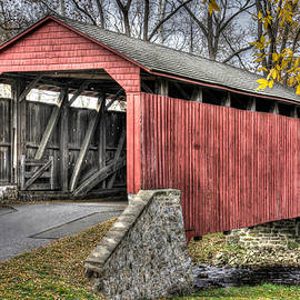 Michael Mazaika - PA Country Roads - Poole Forge Covered Bridge Over Conestoga Creek No. 3B-Alt - Lancaster