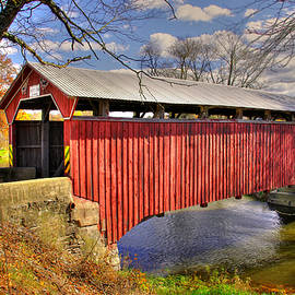Michael Mazaika - PA Country Roads - Sam Wagner Covered Bridge Chillisquaque Creek #8 Northumberland Montour Counties