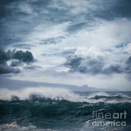 Sharon Mau - He inoa wehi no Hookipa  Pacific Ocean Stormy Sea