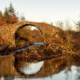 Packhorse Bridge Over The River Minnoch
