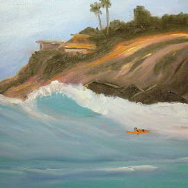 Peter Enyeart - Paddle Out