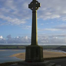 Richard Brookes - Padstow Monument Sunset North Cornwall