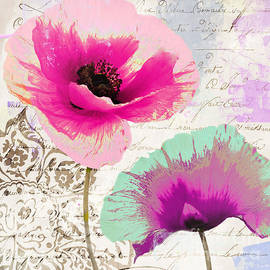 Mindy Sommers - Paint and Poppies II