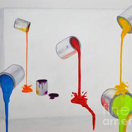 Ken Figurski - Paint Cans Vivid Colors