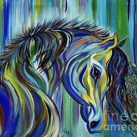 Janice Rae Pariza - PAINT Native American Horse