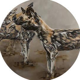 Jolante Hesse - Painted Dogs 1