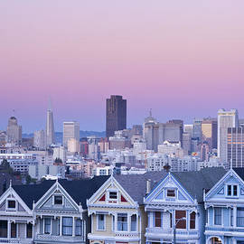 Justin Foulkes - Painted Ladies, San Francisco
