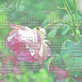 Larry Bishop - Painted Rose Calendar 2016