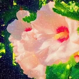 Debra Lynch - Painting of Rose of Sharon