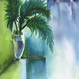 Frank Bright - Palm Still Life Abstract