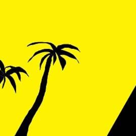 Palms and Pyramid