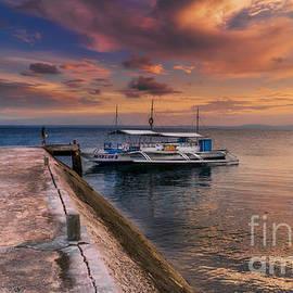 Adrian Evans - Pandanon Island Sunset