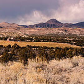 Silvio Ligutti - Panorama of Cochiti Lake Golf Club - Cochiti Pueblo Jemez Mountains New Mexico