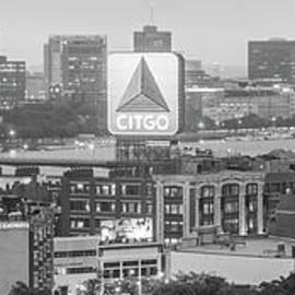 Panoramic Boston Skyline Aerial Photo - Paul Velgos