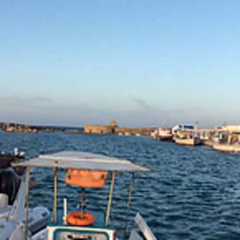 Colette V Hera  Guggenheim  - Panoramic Harbour Naoussa Paros Island