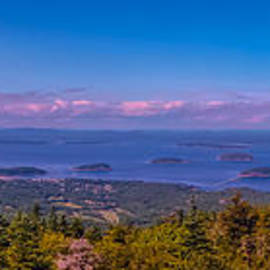 Claudia Mottram - Panoramic view from Cadillac Mountain 2