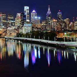 Frozen in Time Fine Art Photography - Panoramic view of Philly