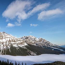 Yves Gagnon - Panoramic View Peyto Lake Banff National Park