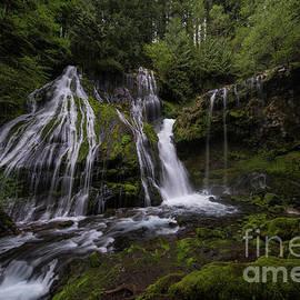 Panther Creek Falls Wide - Mike Reid