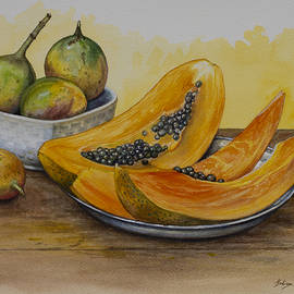 Yuliya Glavnaya - Papaya and maracuja