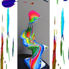 Tina M Wenger - Paper Mache Design 2 Of 2