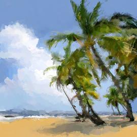 Anthony Fishburne - Paradise tropical beach
