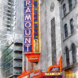 Paramount Theater Boston MA - Edward Fielding