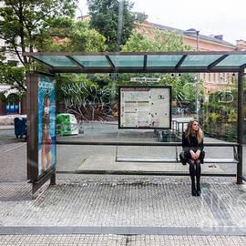 Prague Bus Stop