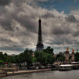 Lance Vaughn - Paris - Eiffel Tower from the Seine 001