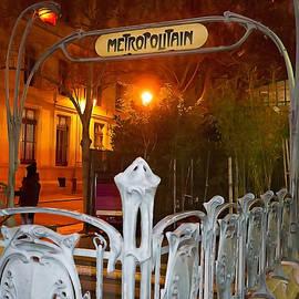Art Block Collections - Paris Metropolitain Station