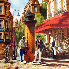 Roman Fedosenko - Paris, street musicians