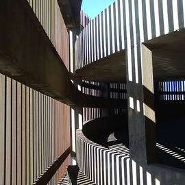 Michael Hoard - Parked Shadows Abstract Architecture In New Orleans Louisiana