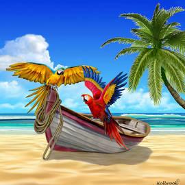 Glenn Holbrook - Parrots of the Caribbean